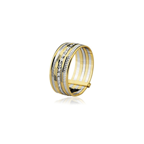 Anel Sete Felicidades em ouro 18k. Um ótimo presente para o amor da ... 4dd66f5e18